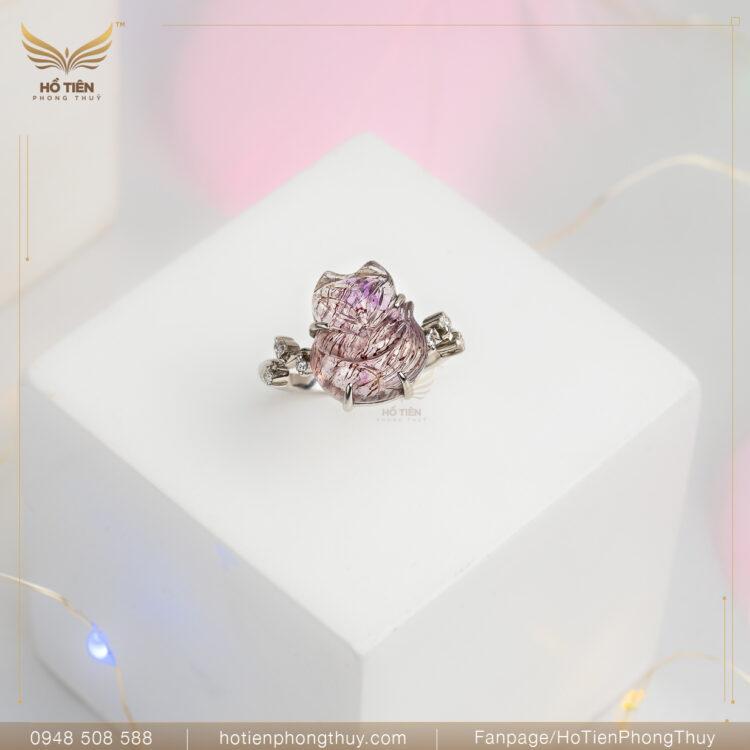 nhẫn hồ ly hồng