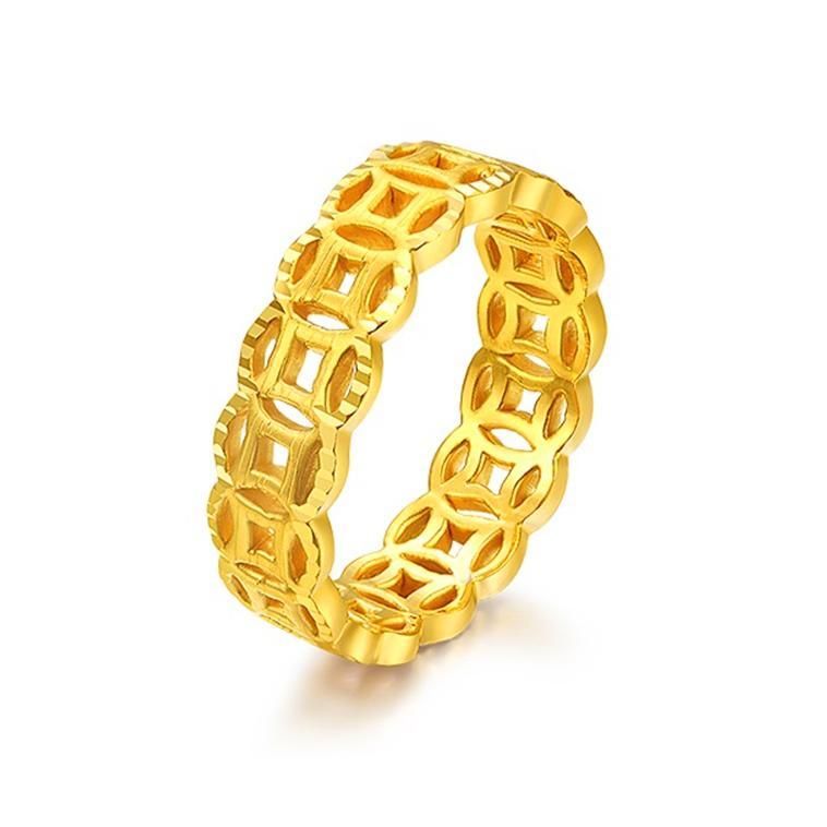 Nhẫn phong thủy mạ vàng đeo thế nào vừa ĐẸP vừa MAY MẮN