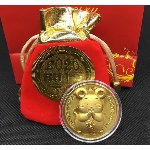 vàng miếng hình chuột phong thủy