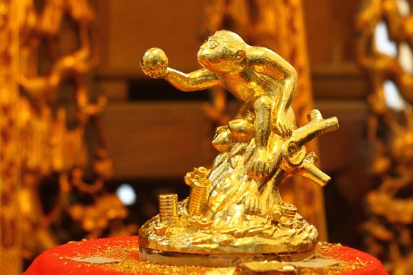 Khỉ vàng phong thủy