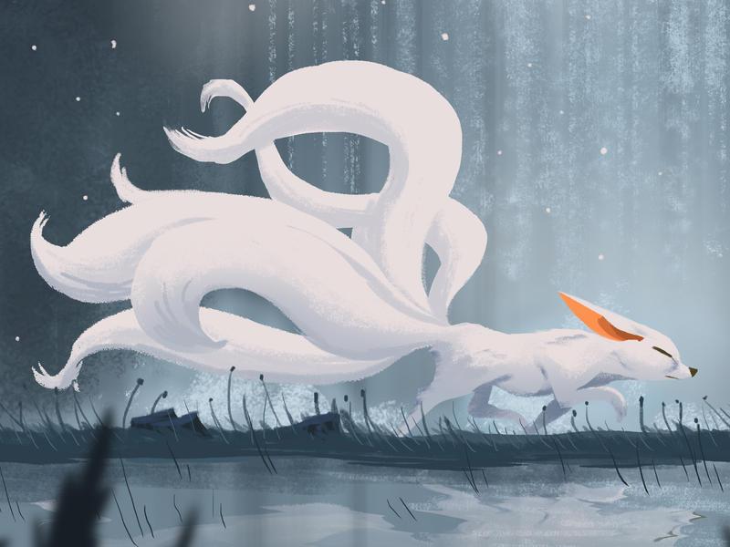 Hồ ly 9 đuôi trong truyền thuyết