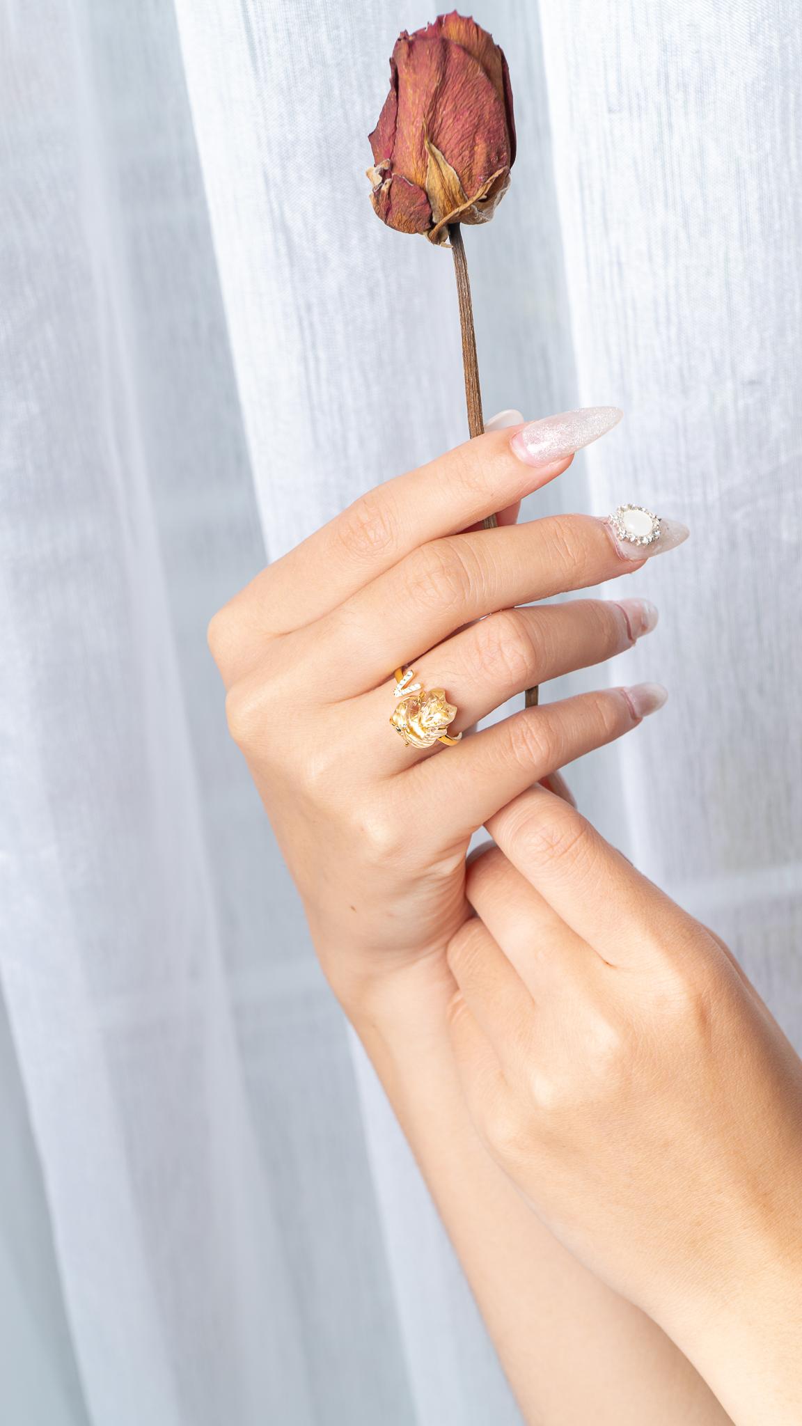 cách đeo nhẫn hồ ly hợp mệnh