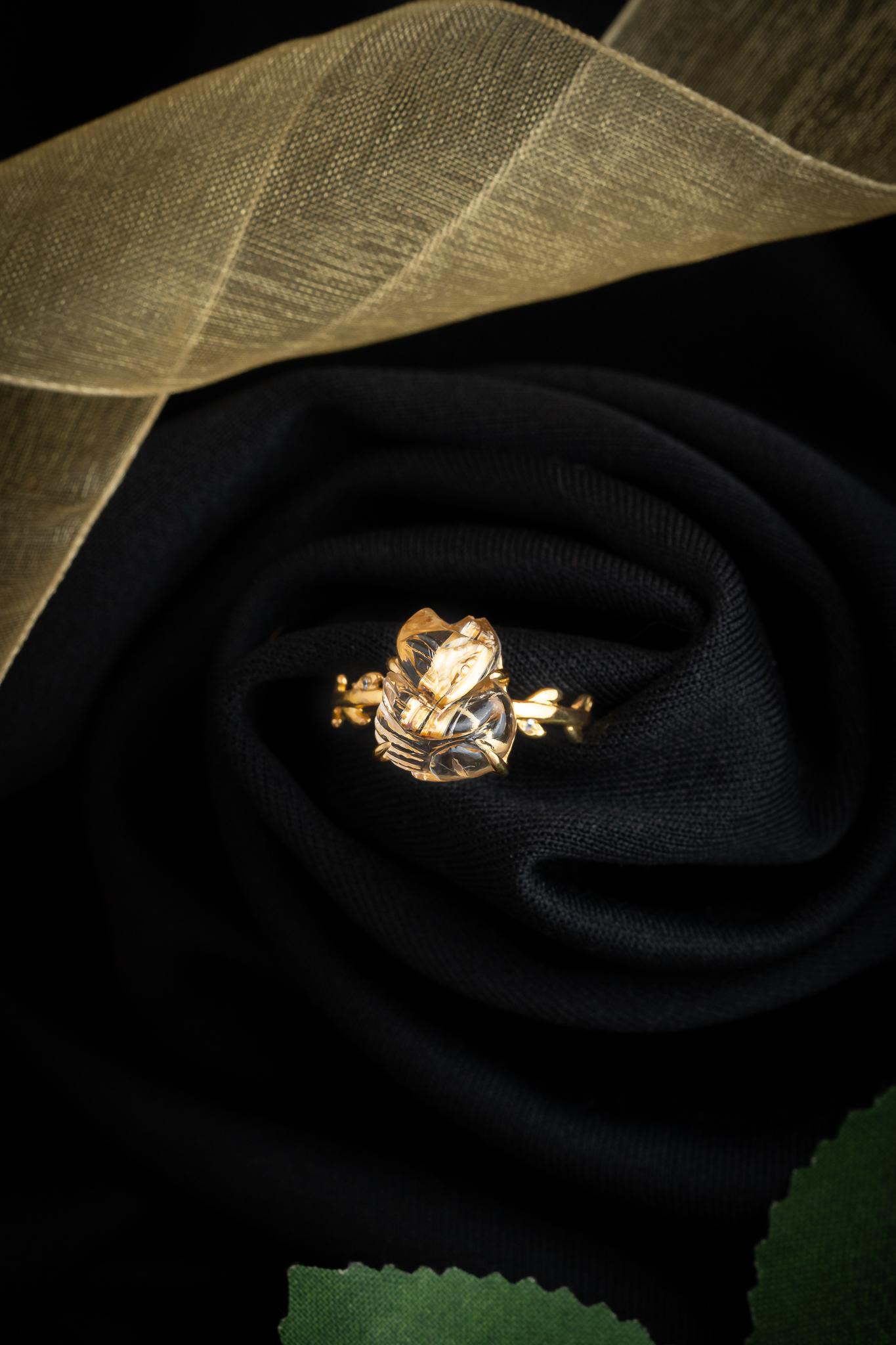 cách đeo nhẫn hồ ly mệnh kim