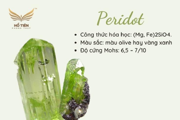 Đá Peridot phong thủy
